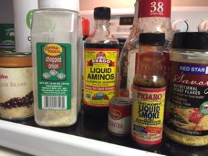 Picture of ingredients for Black Bean Burgers